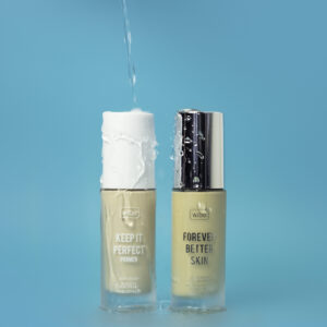 Wibo FitFreak Keep It Perfect primer and Forever Better Skin foundation