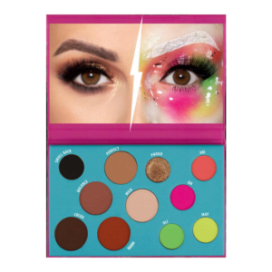 Wibo Feel-My-Mind-Eyeshadow-Pallet lauvärvid palett