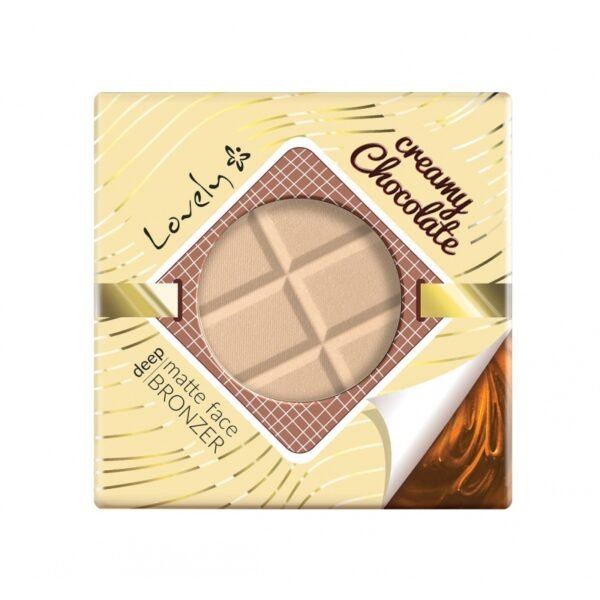 Wibo Lovely Creamy Chocolate Face Bronzer - Deep Matte1