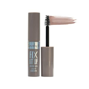 Wibo Lovely Fix It Up Brow Gel - 1 Light Brown