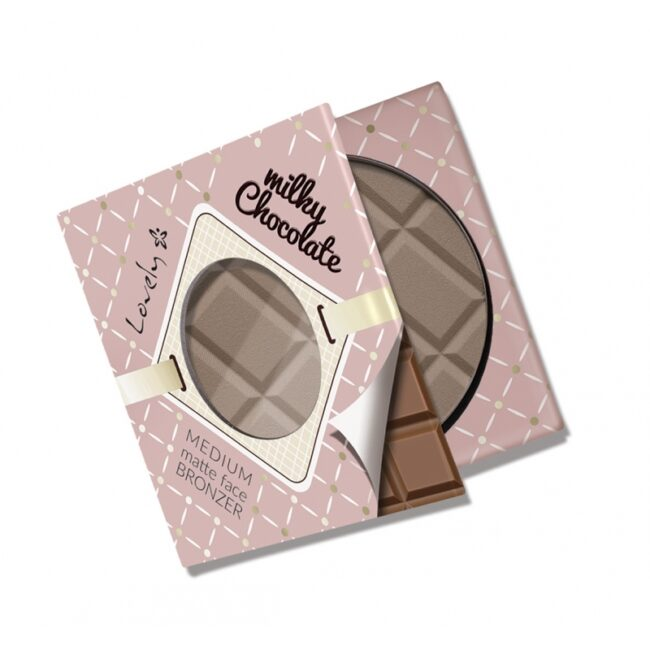 Wibo Lovely Milky Chocolate Face Bronzer - Medium Matte1