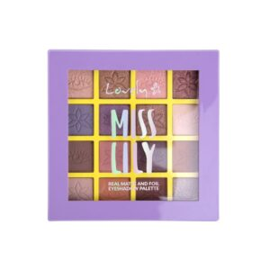 Wibo Lovely Miss Lilly Eyshadow Palette - Real Matte and Foil 1