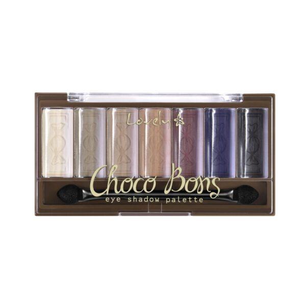 Wibo Lovely choco bons eye shadow palette 1