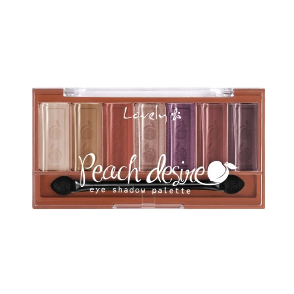 Wibo Lovely peach-desire eye shadow palette 1