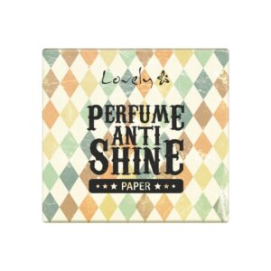 Wibo Lovely perfume anti shine paper 1