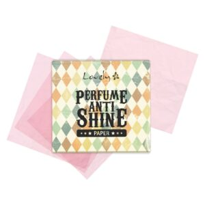 Wibo Lovely perfume anti shine paper 2