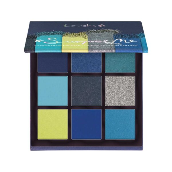 Wibo Lovely Surprise Me Eyeshadow Palette Ocean Lagoon Edition 1
