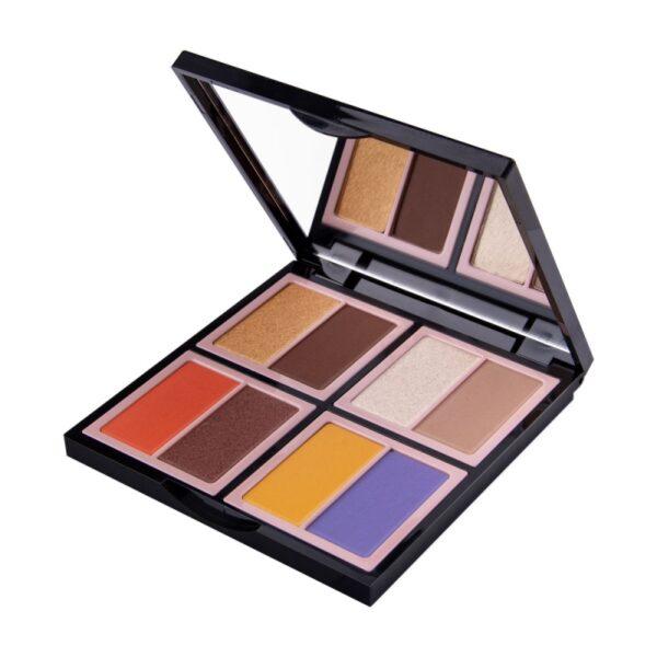 Wibo #MYCHOICEWIBO VIVA-A-VIVA Eyeshadow Palette1