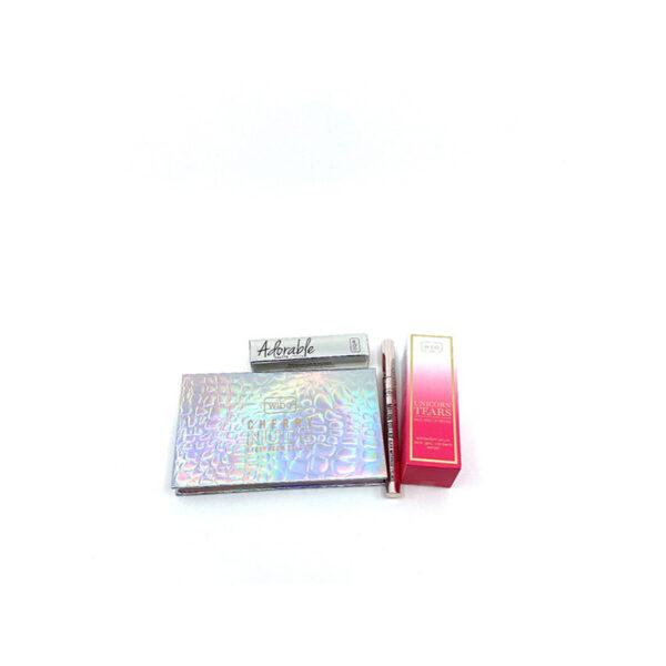 4 Wibo Cherry Nude Unicorn Adorable Million Dollar Eyeliner Gift Set neli toodet 1