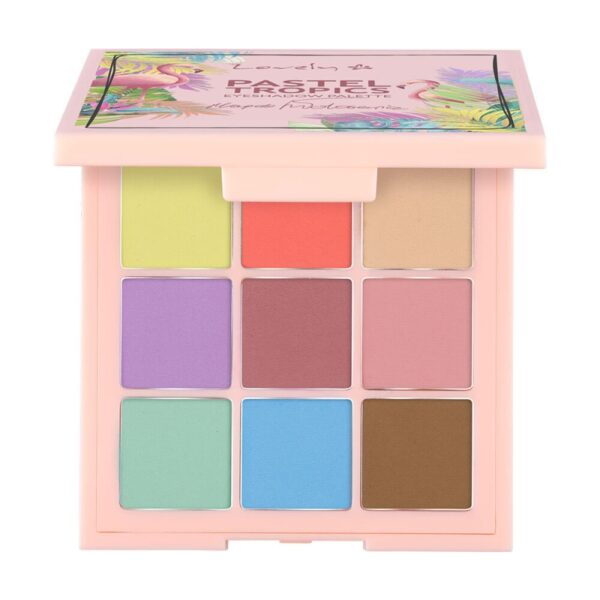 Wibo Lovely Pastel Tropics Eyeshadow, 5901801677949 3