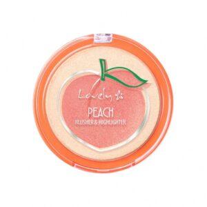 Lovely Peach Blusher & Highlighter, 5901801681038 1
