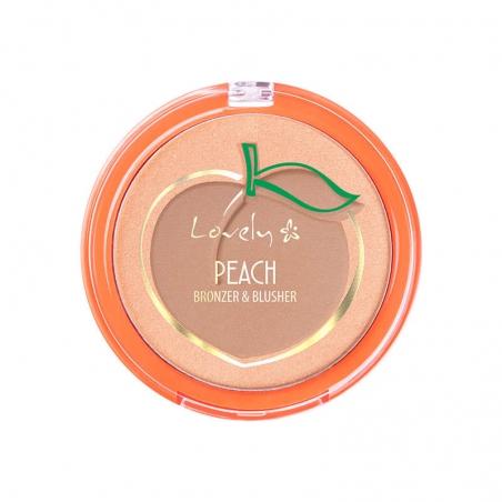 Lovely Peach Bronzer & Blusher, 5901801681045 1